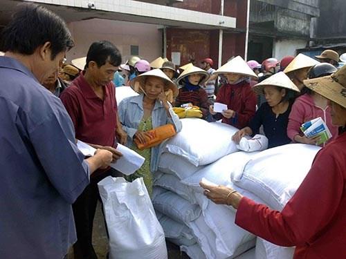 Continuan en Vietnam actividades de ayuda a los pobres hinh anh 1