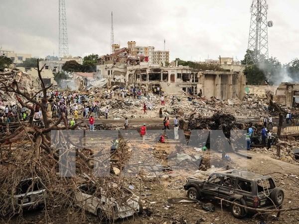 Vietnam expresa pesame ante perdidas humanas por atentado terrorista en Somalia hinh anh 1