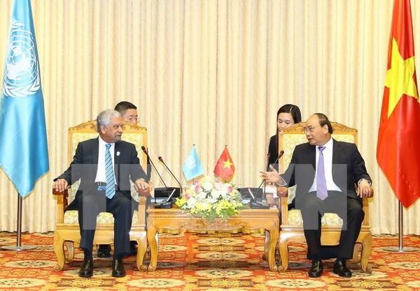 Vietnam reitera alta prioridad concedida a lazos con ONU hinh anh 1