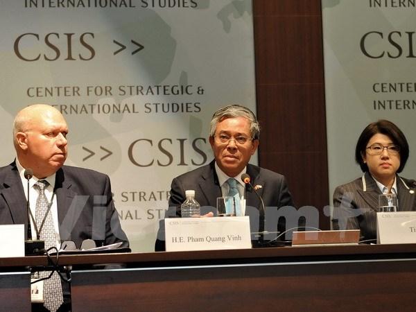 Vietnam resalta papel de APEC en Conferencia sobre estructura de Asia-Pacifico en EE.UU. hinh anh 1
