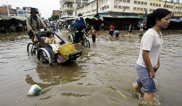 Provincias vietnamitas entregan regalos a personas pobres en Camboya hinh anh 1
