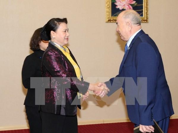 Vietnam fortalece lazos de solidaridad con Kazajstan hinh anh 1
