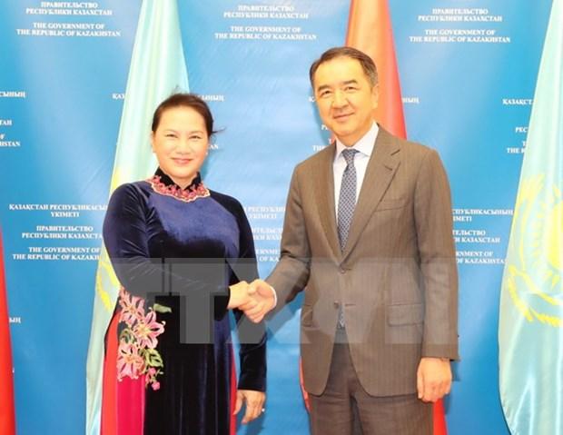 Vietnam y Kazajstan buscan fomentar nexos economicos hinh anh 1