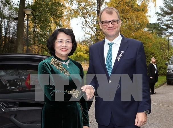 Finlandia desea impulsar nexos con Vietnam hinh anh 1