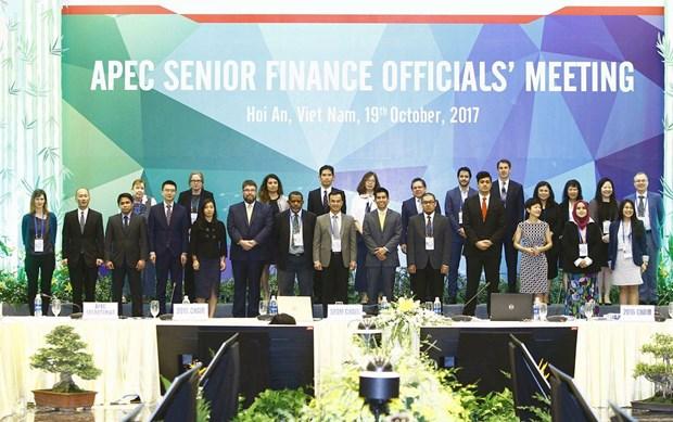 Inauguran en Hoi An reunion de altos funcionarios de Finanzas de APEC hinh anh 1