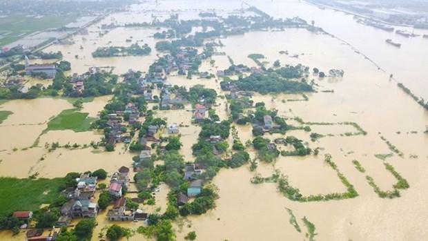 Extienden Laos y El Salvador condolencias a Vietnam por perdidas causadas por inundaciones hinh anh 1