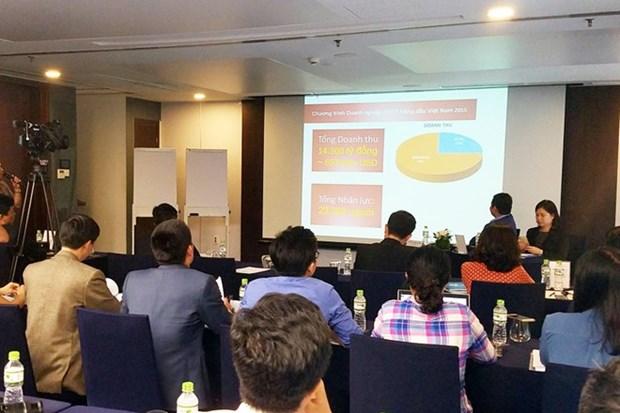 Anuncian nomina de 50 mayores empresas vietnamitas de tecnologia informatica hinh anh 1