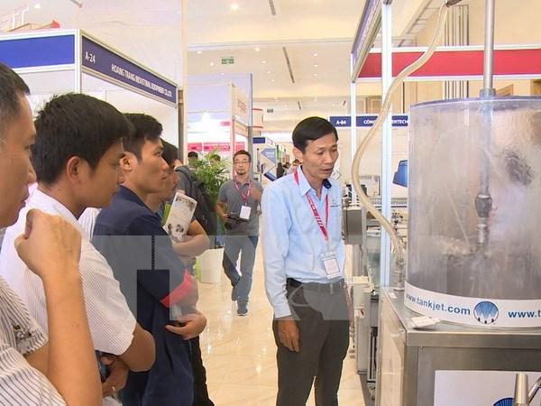 Unas 250 empresas participan en feria industrial de Vietnam hinh anh 1