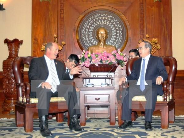 Ciudad Ho Chi Minh impulsa cooperacion con EE.UU. en construccion de urbe inteligente hinh anh 1