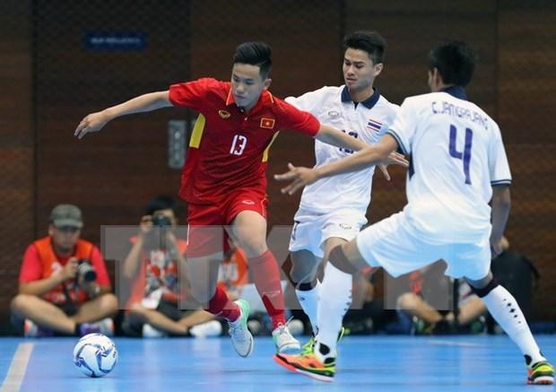 Presentan a patrocinadores del Campeonato sudesteasiatico de futbol sala hinh anh 1