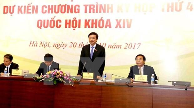 Celebraran cuarto periodo de sesiones del Parlamento de Vietnam hinh anh 1