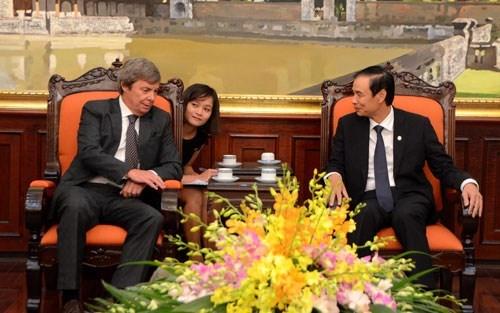 Hanoi incrementa cooperacion con Argentina hinh anh 1