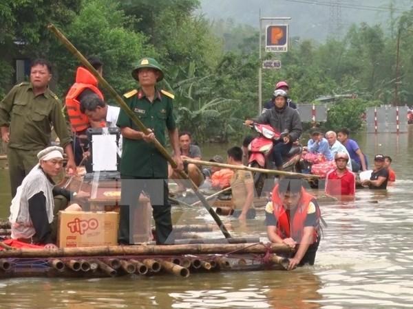 Hoa Binh sufre perdidas materiales de casi 72 millones de dolares por inundaciones hinh anh 1
