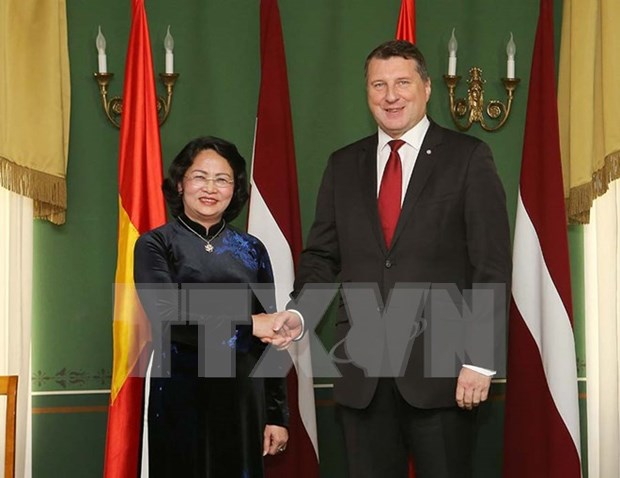 Vietnam, mayor socio comercial de Letonia en Sudeste de Asia hinh anh 1