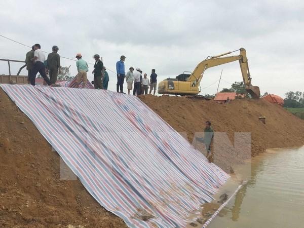 Vicepremier pide a Thanh Hoa seguir de cerca situacion de desastres naturales hinh anh 1