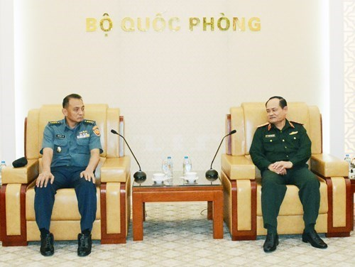 Vietnam e Indonesia cooperan en estudio de estrategia de defensa hinh anh 1
