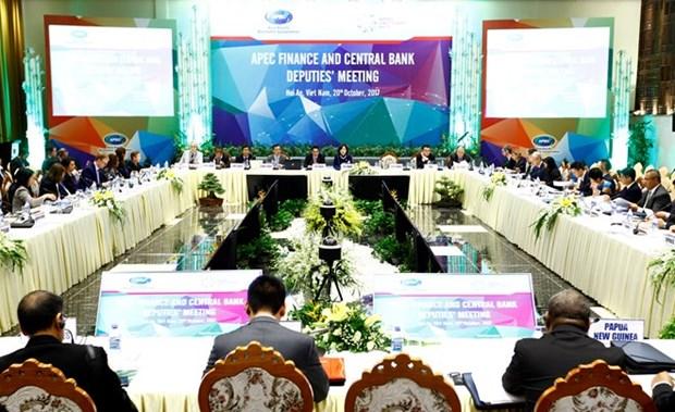 Inauguran reunion de viceministros de Finanzas y subgobernadores de bancos centrales de APEC hinh anh 1
