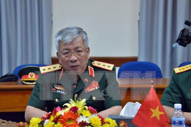 General vietnamita evalua altamente resultados de Dialogos de Politicas de Defensa con EE.UU. hinh anh 1