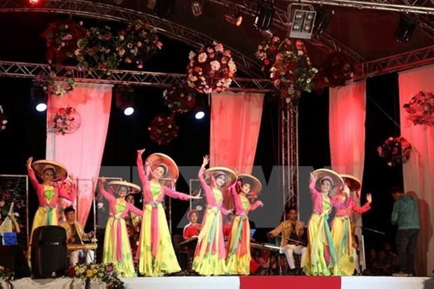 Enaltecen identidad cultural de Vietnam en XIX Festival Mundial de Juventud y Jovenes hinh anh 1