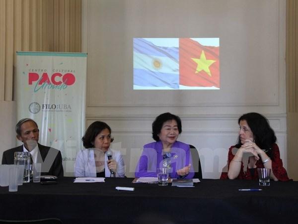 Medios de comunicacion argentinos interesados en Vietnam hinh anh 1