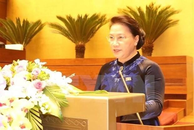 Parlamento vietnamita aprobara seis proyectos de ley durante cuarto periodo de sesiones hinh anh 1