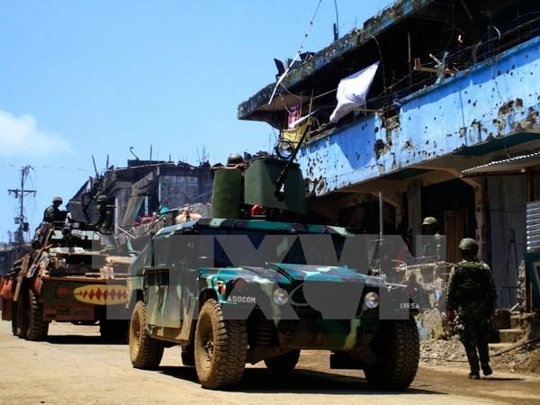 Filipinas anuncia liberacion de todos los rehenes en Marawi hinh anh 1