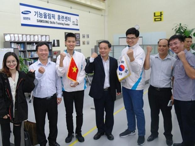 Gana Vietnam bronce en Competencia Mundial de Habilidades hinh anh 1