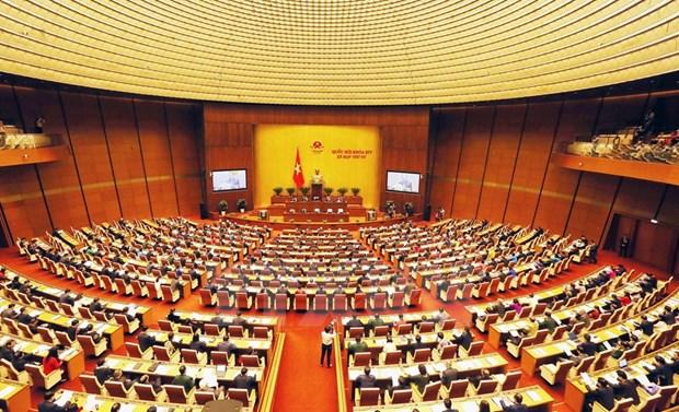 Inauguran cuarto periodo de sesiones del Parlamento vietnamita hinh anh 1