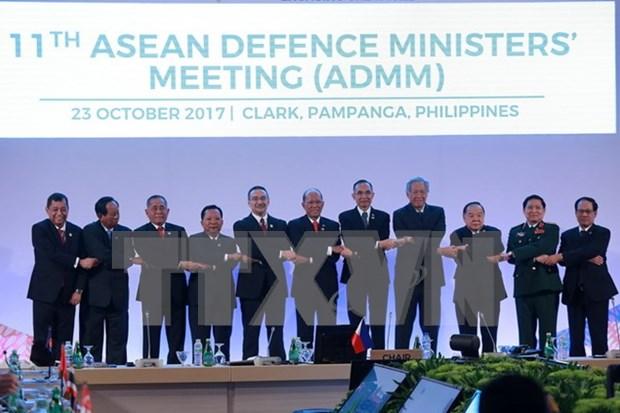 Emiten declaracion conjunta de ADMM-11 para impulsar la seguridad regional hinh anh 1