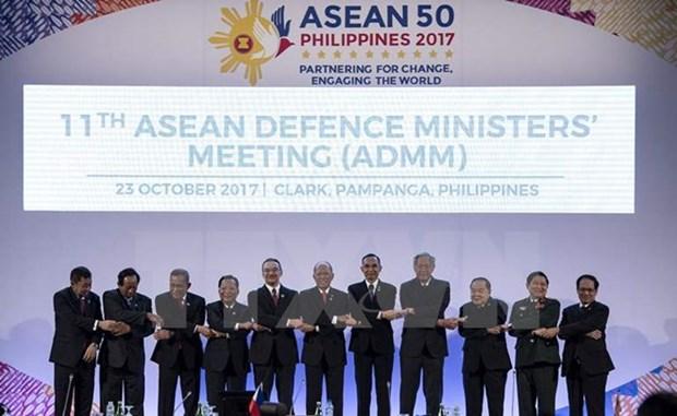 ASEAN fortalece nexos en defensa con sus contrapartes hinh anh 1
