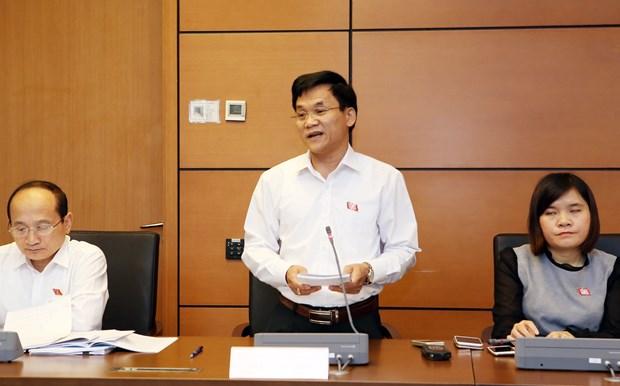 Parlamento vietnamita concluye segunada jornada de trabajo de cuarto periodo hinh anh 1
