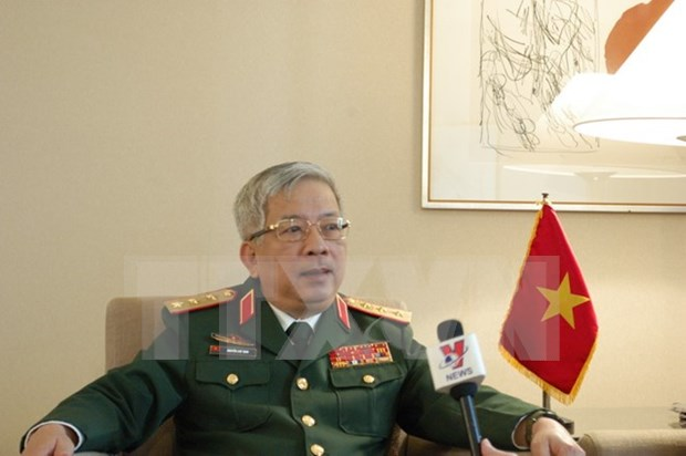 Resaltan importantes de evento de defensa fronteriza para amistad Vietnam- China hinh anh 1