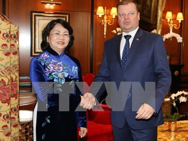 Vietnam y Lituania impulsan cooperacion economica hinh anh 1