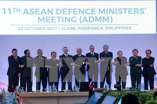 Ministros de defensa de ASEAN instan a Corea del Norte a reanudar dialogo hinh anh 1