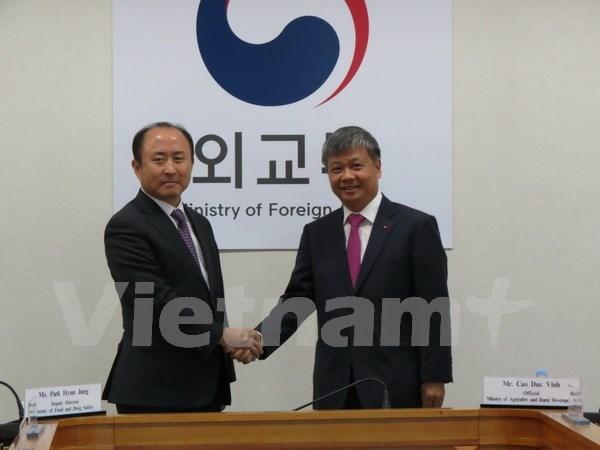 Sesiona en Seul comite intergubernamental Vietnam-Sudcorea hinh anh 1