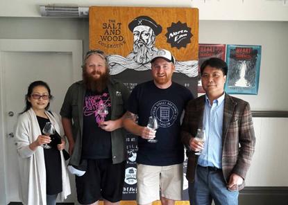 Marcas vietnamitas logran exito en Exposicion de Cerveza de Pacifico hinh anh 1