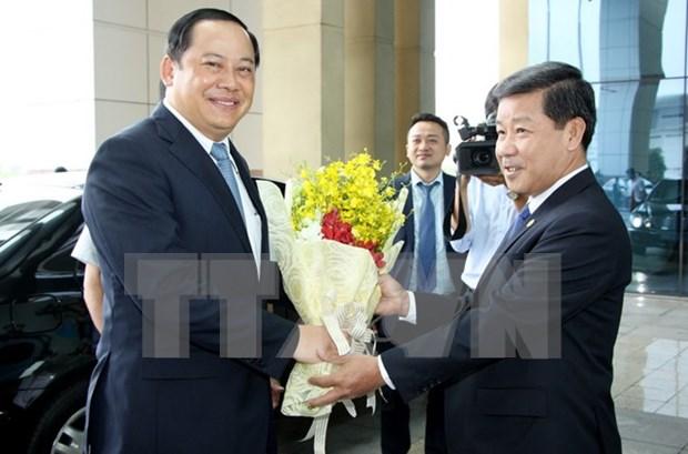 Vicepremier laosiano destaca desarrollo de provincia vietnamita de Binh Duong hinh anh 1