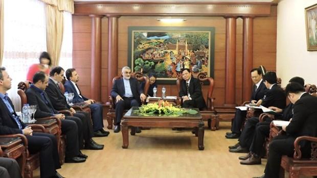Vietnam e Iran fortalecen cooperacion economica hinh anh 1