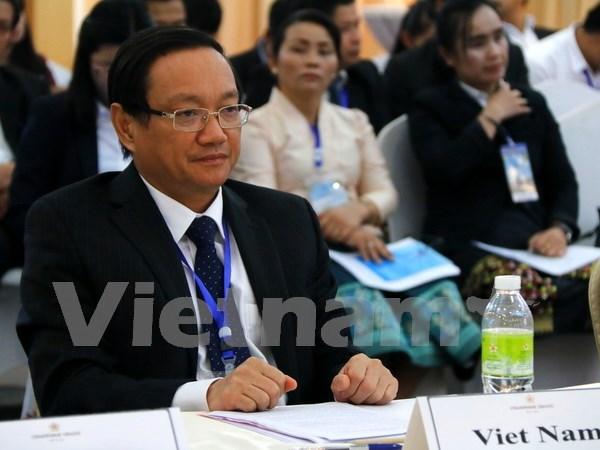 Inauguran en Laos conferencia de ASEM sobre gestion de recursos hidricos hinh anh 1
