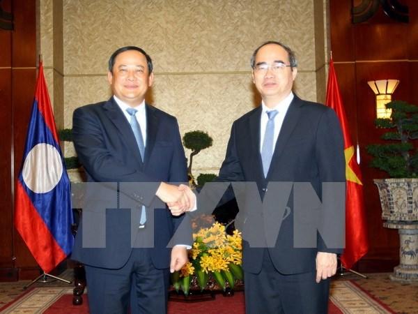 Ciudad Ho Chi Minh impulsa relaciones multifaceticas con Laos hinh anh 1
