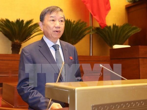 Parlamento vietnamita analiza borradores de leyes de secretos estatales y seguridad cibernetica hinh anh 1