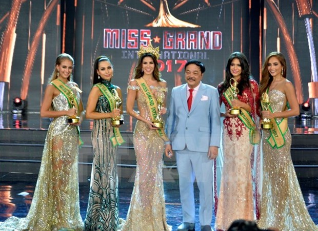 Belleza peruana gana el titulo de Miss Grand International 2017 hinh anh 1