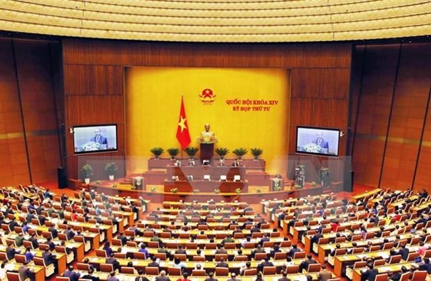 Parlamento vietnamita aprueba designacion de miembros del gabinete y analiza proyectos de leyes hinh anh 1