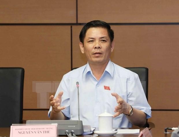 Aprueban designacion para cargos de ministro de Transporte e Inspector general del gobierno vietnamita hinh anh 1