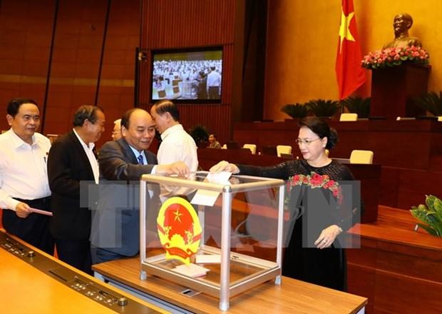 Parlamento de Vietnam se encamina a aprobar designacion de miembros del gabinete hinh anh 1