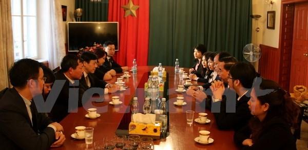Vietnam y Republica Checa inician negociaciones sobre tratado de asistencia legal hinh anh 1