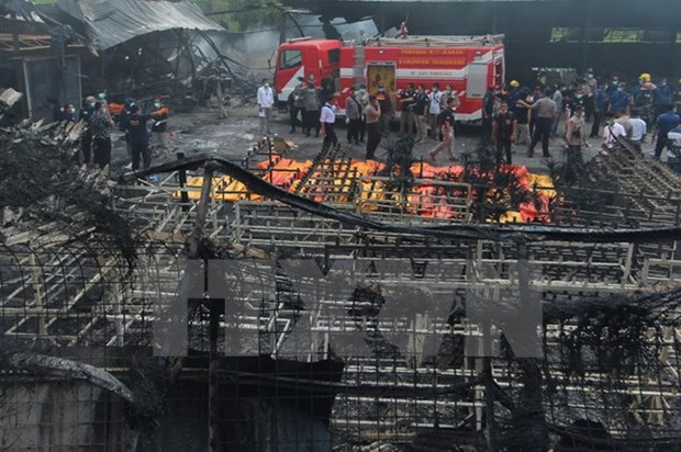 Indonesia: explosion de fabrica de fuegos artificiales mata a 47 personas hinh anh 1