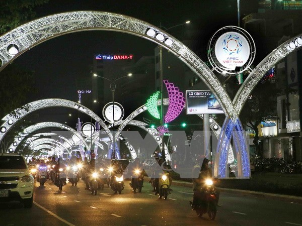 Presentaran productos tipicos de Vietnam a delegados de APEC 2017 hinh anh 1