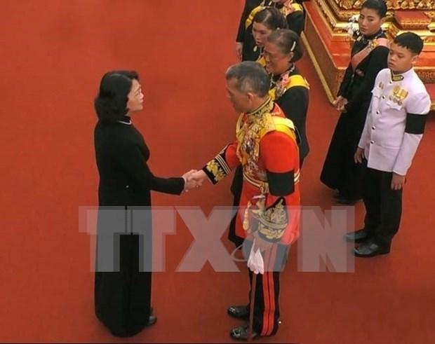 Vicepresidenta vietnamita participa en funeral del rey tailandes hinh anh 1
