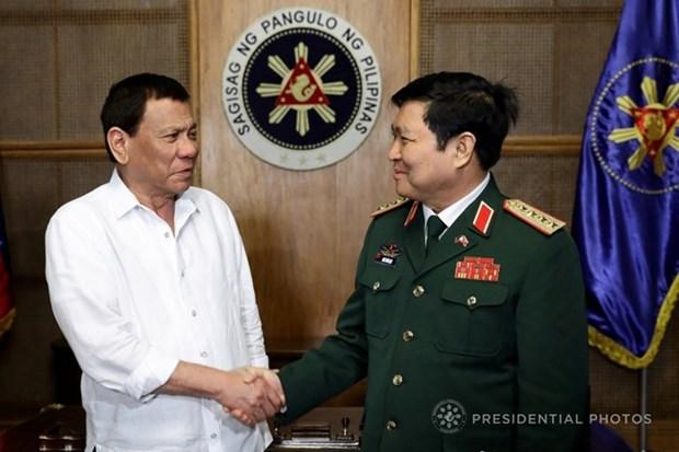 Vietnam y Filipinas intensifican cooperacion en defensa hinh anh 1